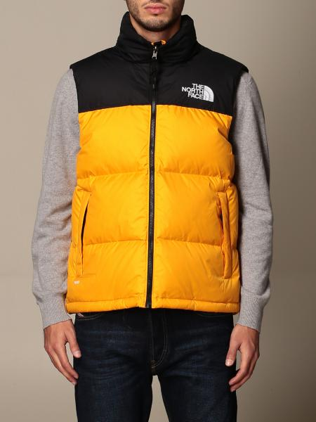 Piumino a gilet The North Face bicolor