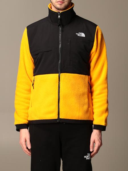 The North Face: Felpa The Not Face in pile e nylon