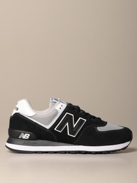 574 New Balance sneakers in suede and mesh