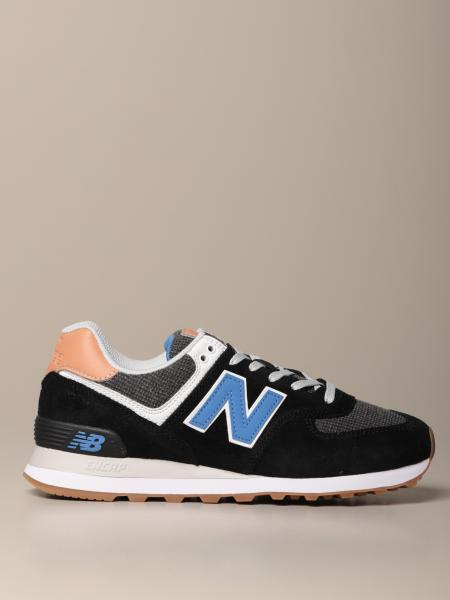 574 New Balance sneakers in suede and canvas
