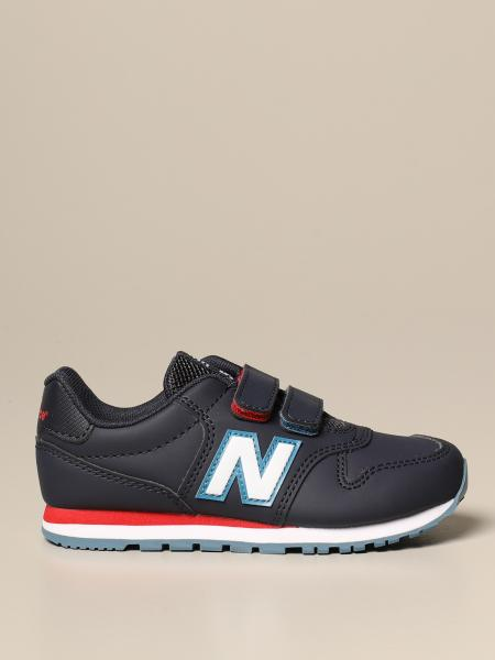500 New Balance sneakers in synthetic leather and mesh
