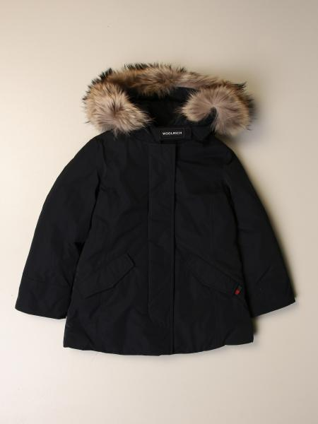Woolrich: Luxury artic parka down jacket with hood and fur