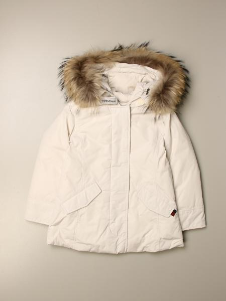 Luxury artic parka down jacket with hood and fur