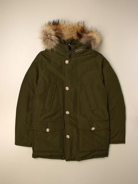 Woolrich: Artik Woolrich parka with hood and fur edges