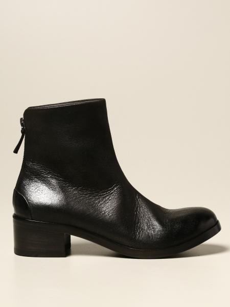 Marsèll: Marsèll Listo Zip ankle boot in genuine nubuck leather