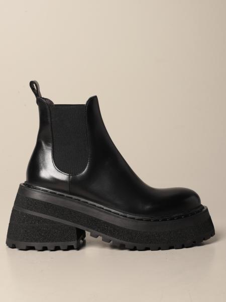 Marsèll: Carretta slip on leather ankle boot