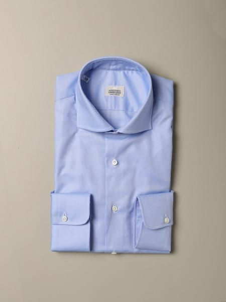 Collo italiano sartoriale regular oxford con pince