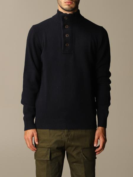 Barbour: Barbour wool pullover with buttons