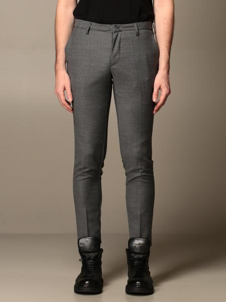 Baronio trousers with america pockets in wool