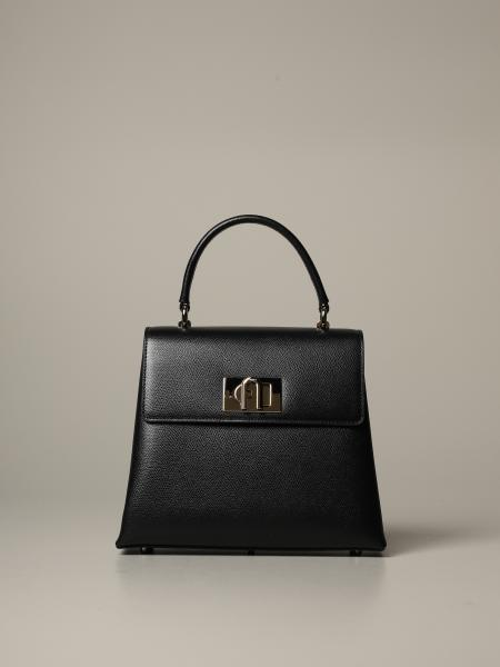 Ares Furla 1927 bag in grained leather