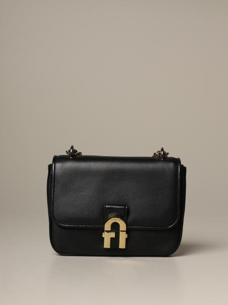 Cozy mini Furla bag in nappa leather