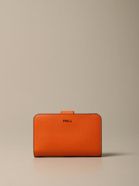 Babylon M Compact Furla wallet in saffiano leather