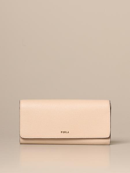 Furla Babylon continental wallet in saffiano leather