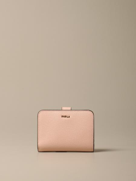 Babylon S Compact Furla wallet in saffiano leather