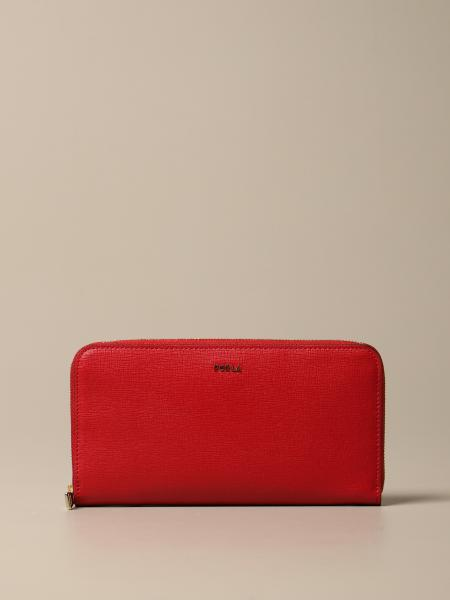 Furla Babylon XL continental wallet in saffiano leather