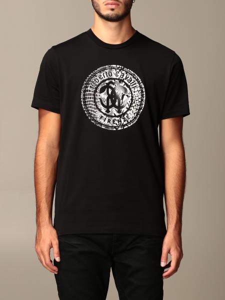 Roberto Cavalli: T-shirt Roberto Cavalli con stemma