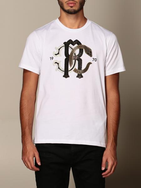 Roberto Cavalli: T-shirt Roberto Cavalli con logo