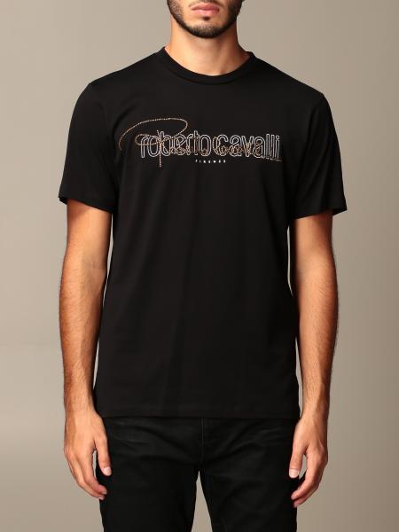 Roberto Cavalli: T-shirt Just Cavalli con logo