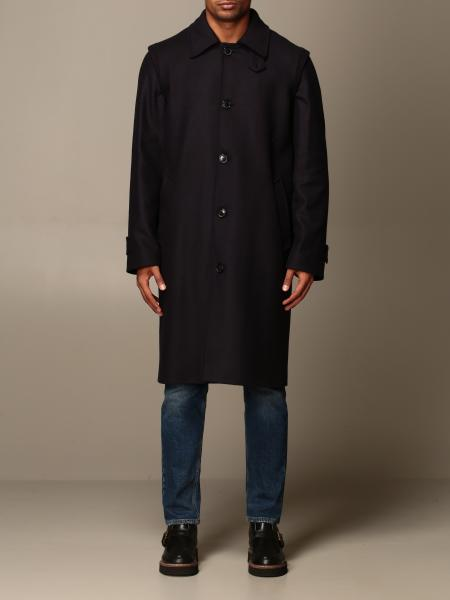 Grifoni coat in woolen cloth and cashmere