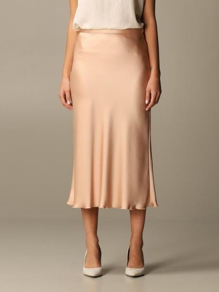 Blumarine: Blumarine Midi skirt in satin