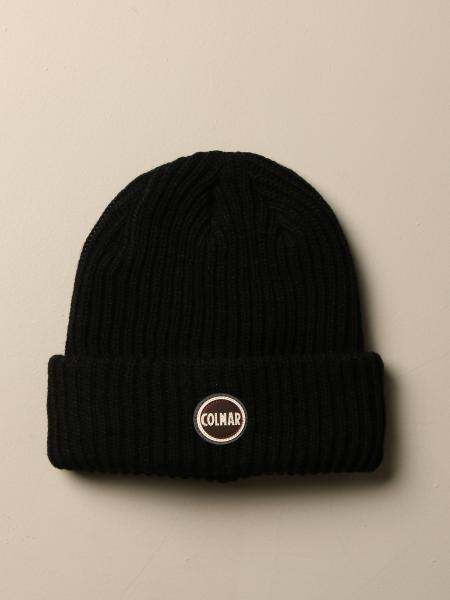Colmar hat in ribbed wool blend with logo