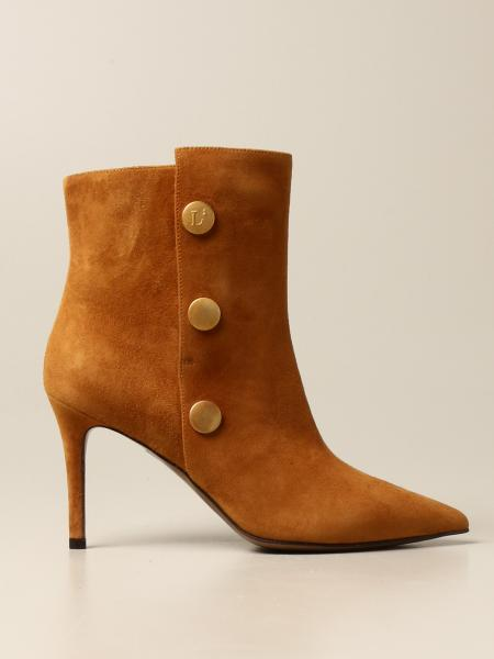 L'autre Chose ankle boot in suede
