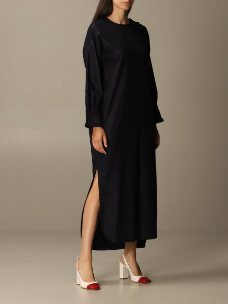 Venusia Max Mara dress in wool flannel