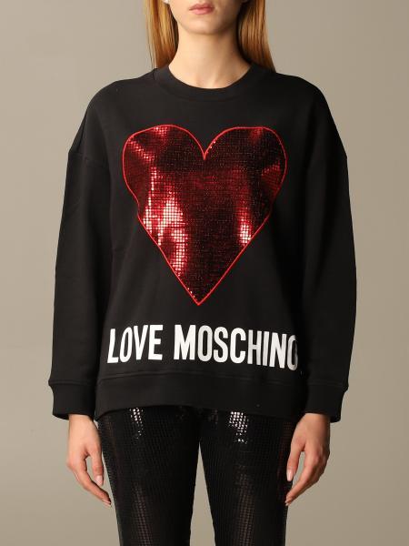 Sweatshirt damen Love Moschino
