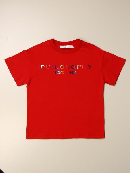 T-shirt Philosophy di Lorenzo Serafini con logo