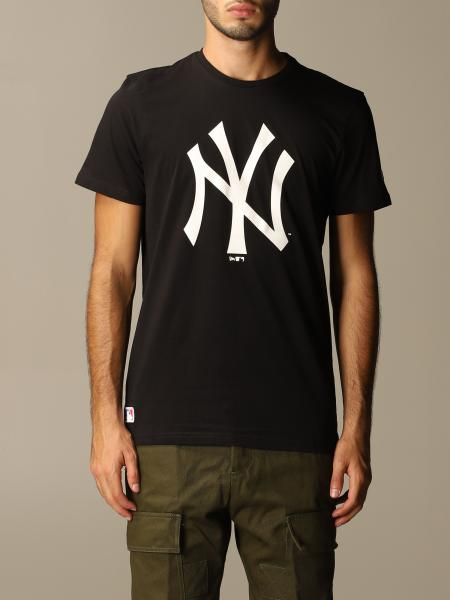 New Era: T-shirt New Era in cotone con big logo