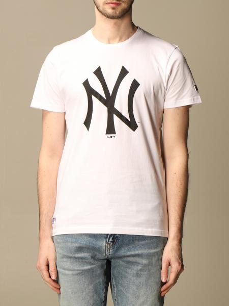 New Era: T-shirt New Era con big logo NY