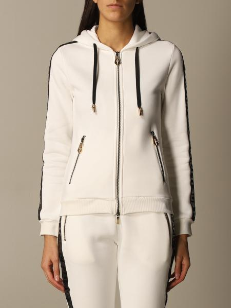 Paciotti 4Us: Paciotti 4US sweatshirt with hood and zip