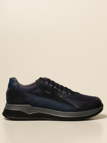 Paciotti 4US sneakers in suede, leather and mesh
