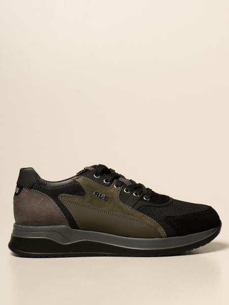Paciotti 4US sneakers in suede and mesh