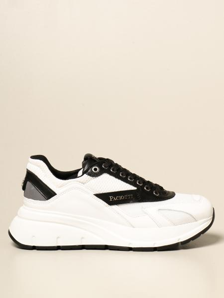 Paciotti 4US sneakers in leather and mesh