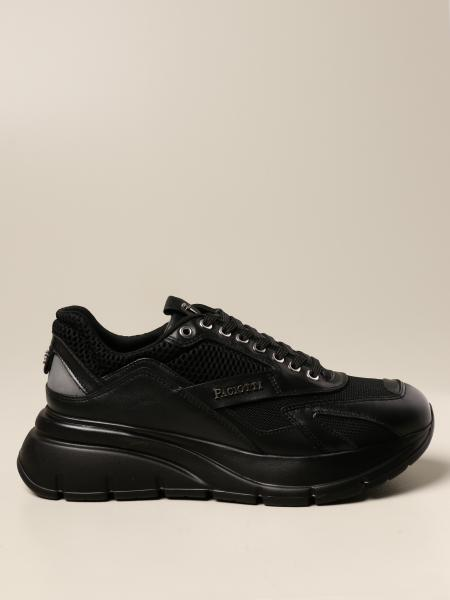 Paciotti 4Us: Paciotti 4US sneakers in leather and mesh