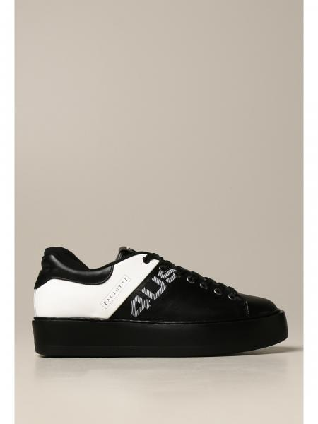 Paciotti 4US sneakers in two-tone leather