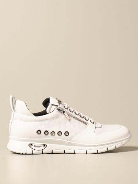 Paciotti 4US sneakers in smooth and textured leather
