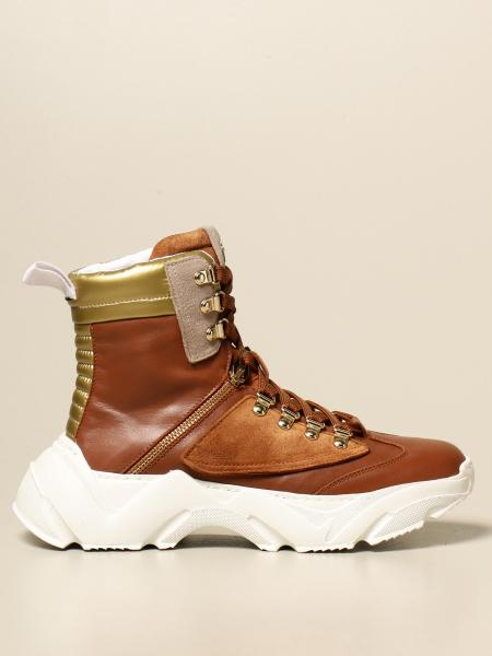 Paciotti 4Us: Paciotti 4US sneakers in leather and suede