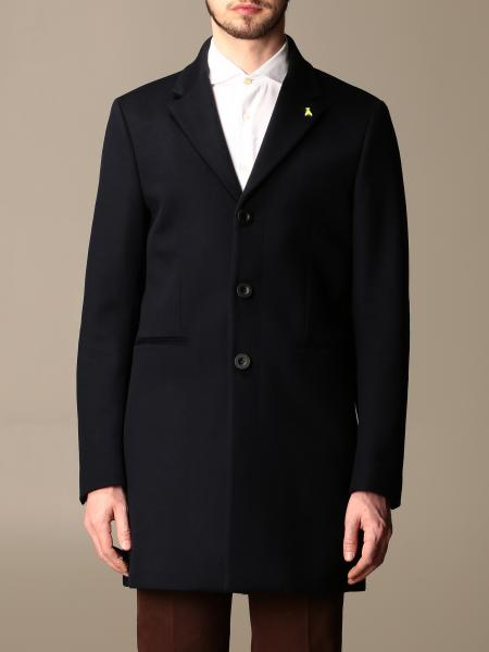Patrizia Pepe coat in cloth with martingale