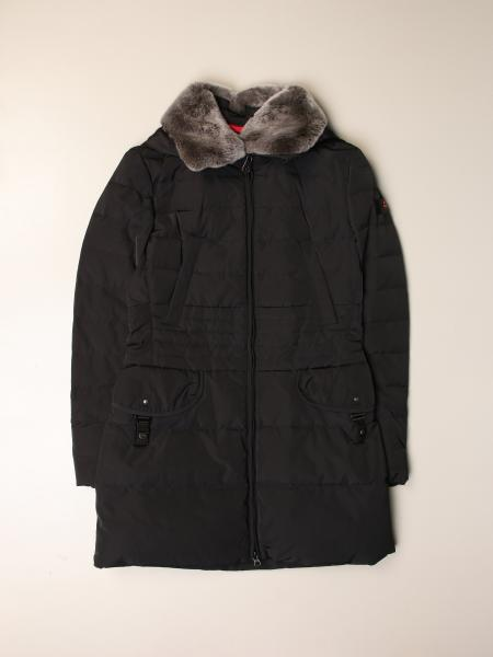 Wave mx 03 rex long Peuterey jacket with fur