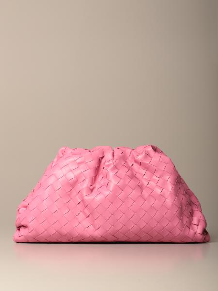 Clutch The pouch Bottega Veneta de piel entrelazada