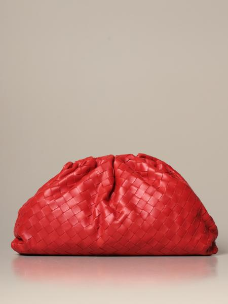 Clutch The pouch Bottega Veneta in pelle intrecciata