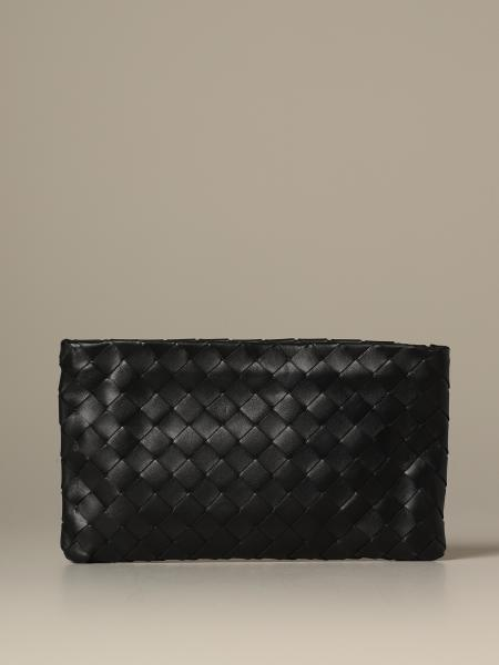 Pochette Bottega Veneta small in pelle intrecciata