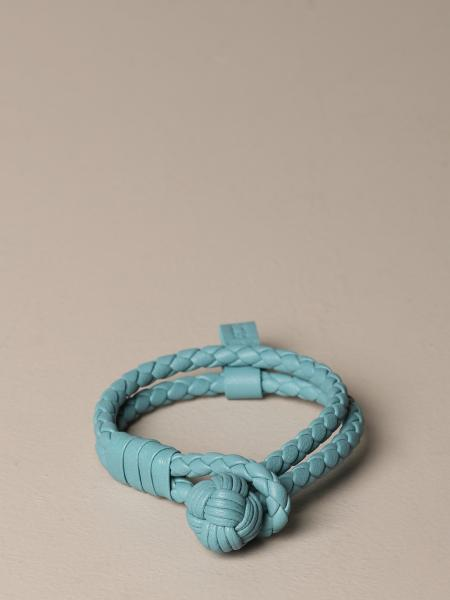 Bottega Veneta bracelet in 2-wire woven nappa with knot