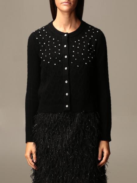 Be Blumarine: Cardigan with jewel buttons