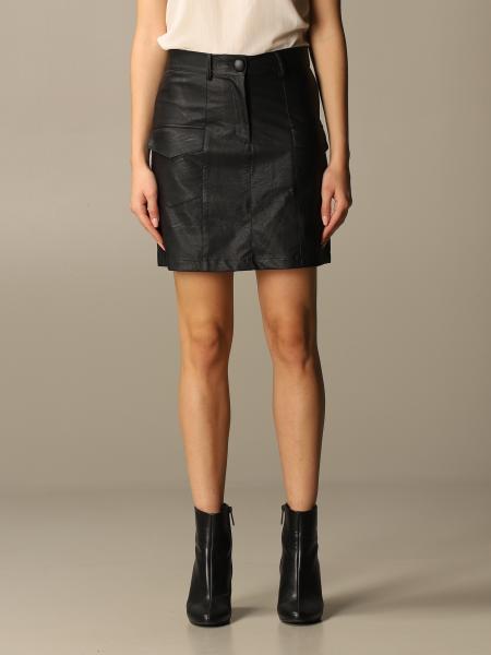 Be Blumarine: Be Blumarine mini skirt in synthetic leather