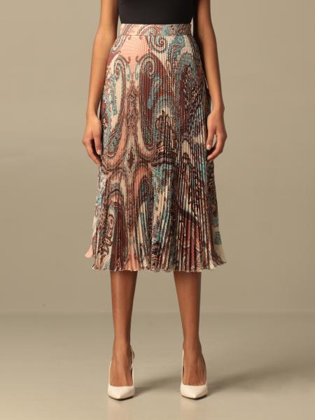 Blumarine: Blumarine pleated silk skirt