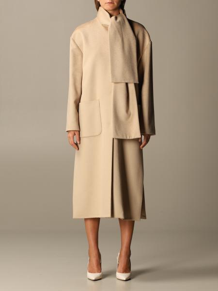Blumarine: Senza collo cachemire e lana zibellinato