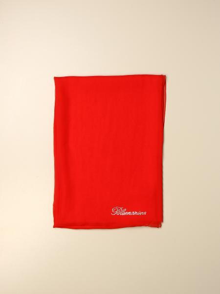 Blumarine: Stola Blumarine in seta con logo